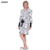 BXMAN Brand New Outono & Inverno Mulheres Robe de Poliéster comprimento da Saia Bonito Homewear Roupões de Flanela Manto Das Mulheres