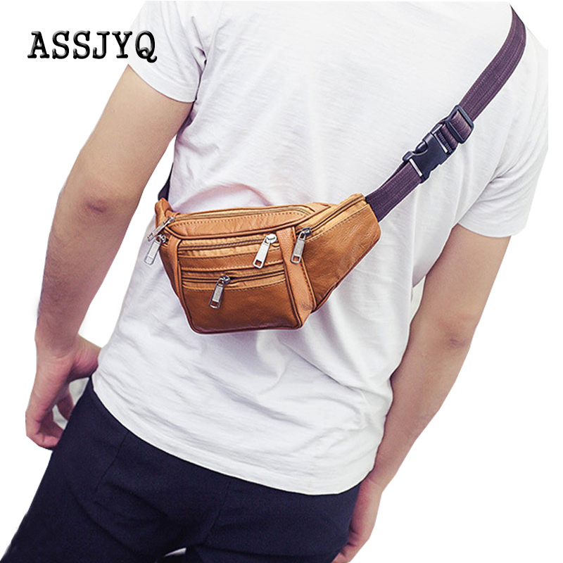 Men's Pu Waist Bag Casual Messenger Bag Waterproof Chest Bag Crossbody Large Capacity Wallet Phone Bum Hip Bags Waist Pack