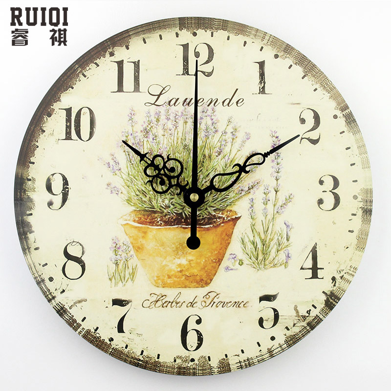 Living room decoration wall clock absolutely silent wall for Design wall clocks for living room