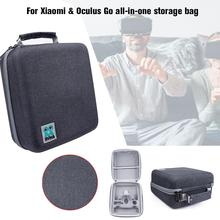 VR  EVA Waterproof Travel Storage Carrying Protective Bag For Oculus Go Virtual Reality Headset Gamepad Controller Accessories цена