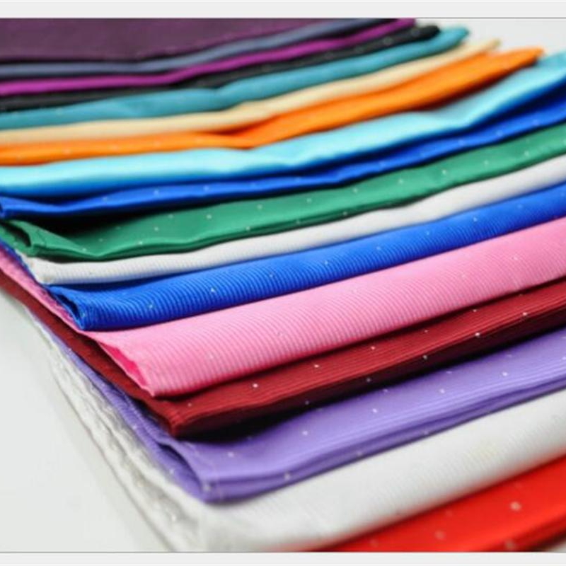 Men's Hand Kerchief Pocket Square Pocket Towels Dot Formal Accessories Printed Towel Handkerchief  Hand Towel 50 Pcs/lot 16color