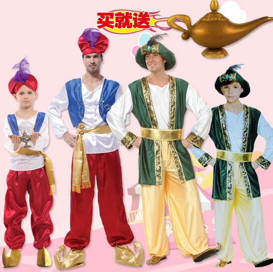 aliexpresscom buy parent child clothes arab costume middle east clothing cosplay carnival halloween costumes kids abult christmas birthday party from