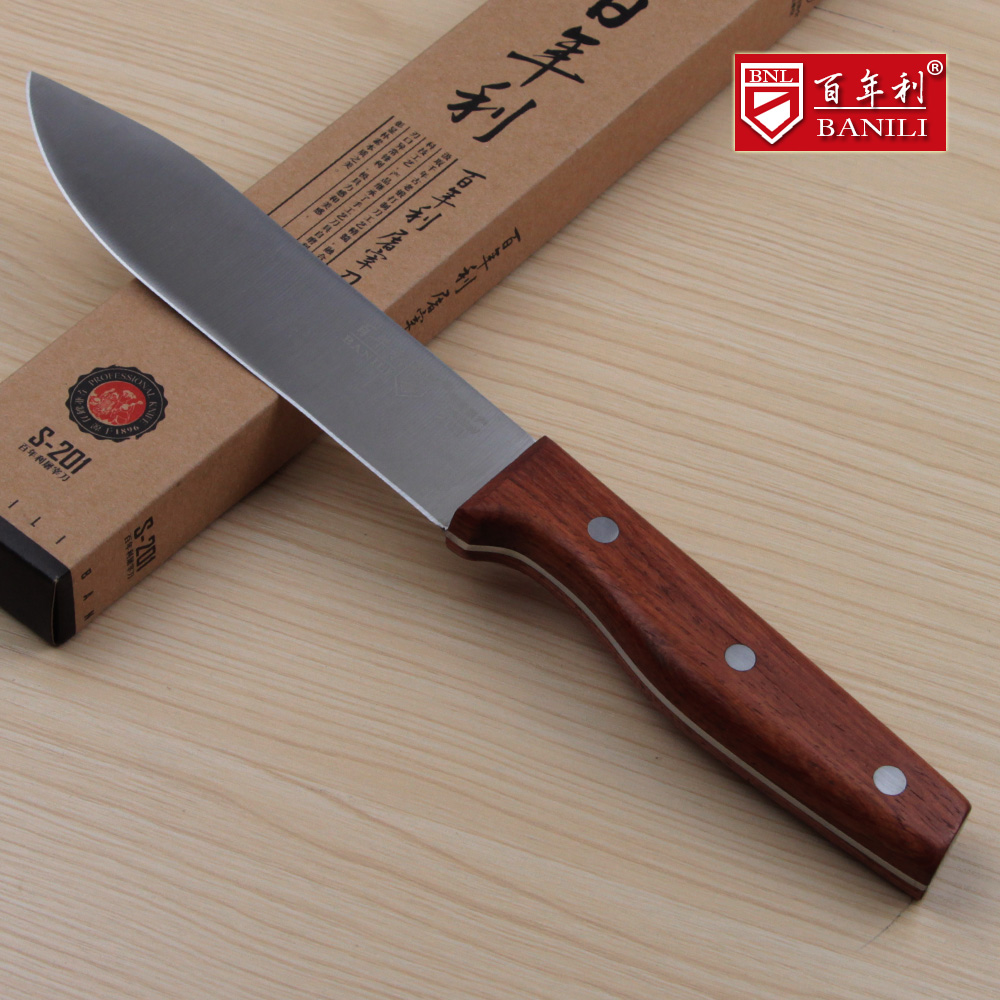 Gratis frakt BANILI 5Cr15Mov Stål Profesjonell Boning Knife Slaughter Eviscerating Meat Knife Butcher Killing Sheep Knives