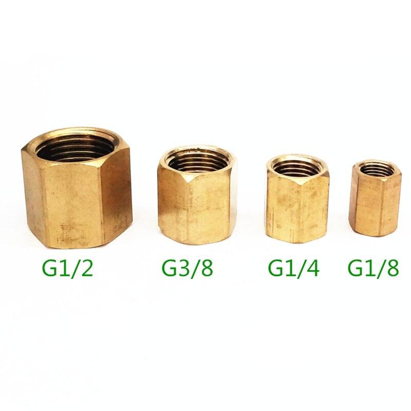 4 Stücke Hohe Qualität Messing Rohr Hex Nippel Fitting Schnell Adapter 1/8 1/4 3/8 1/2 Bsp Außengewinde Wasser Stecker Adapter Rohre & Armaturen Rohrverbindungsstücke