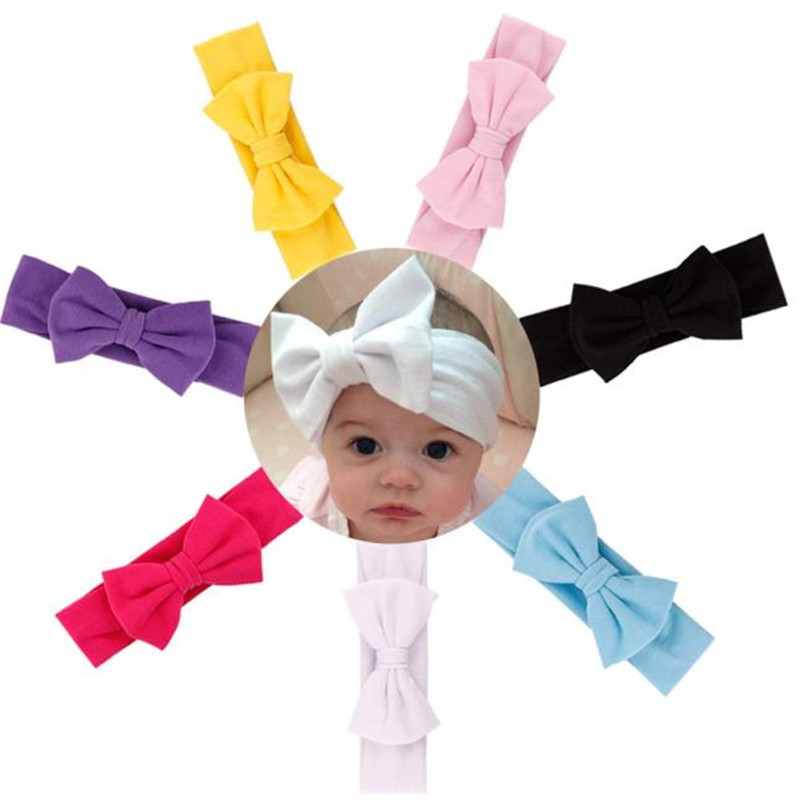 Adorable baby born Hair Accessories Baby Hair Soft Mesh Bowknot Hair Band Baby Headwear headband cotton Elastic gaynor bussell pcos for dummies