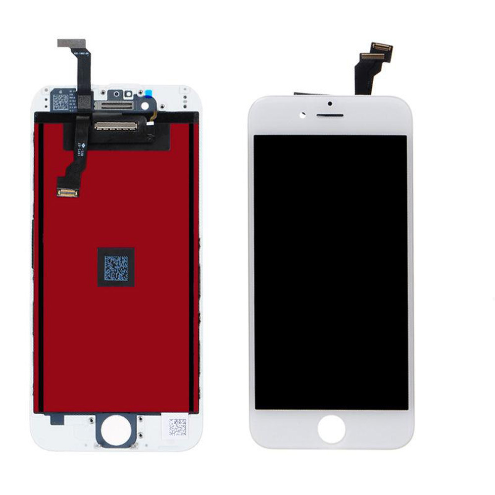 A++ LCD Display Touch Digitizer Screen Assembly Replacement For iPhone 6 4.7 White High Quality