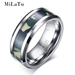 Milatu 8mm 100 real tungsten ring top quality soldier tungsten carbide ring men women jewelry outdoor.jpg 250x250