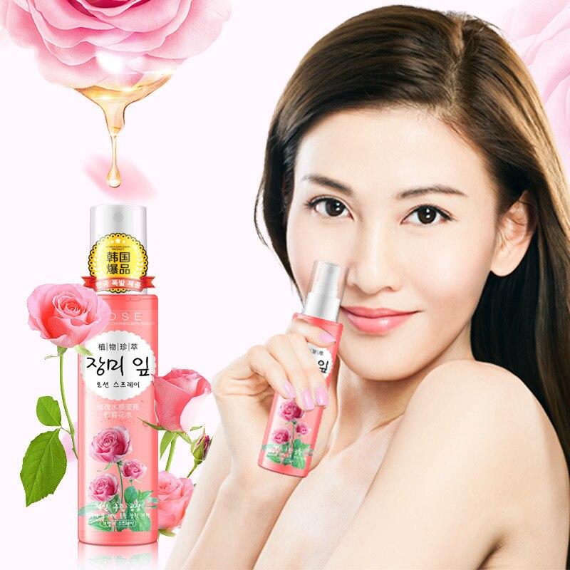 rose essencia extrato rosto spray de toners 01