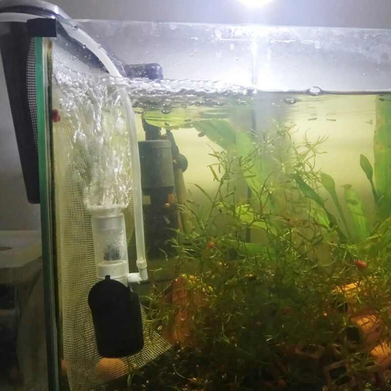 Ультра-тихий Внешний Аквариум фильтр мини фильтр маленький Пневматический фильтр аквариум немой погружной фильтр аксессуары