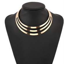 Exaggerated Punk Necklace Sexy Hollow Punk Collar Choker Necklace for Women Statement Party Wedding Jewelry Style Collares punk style alloy choker