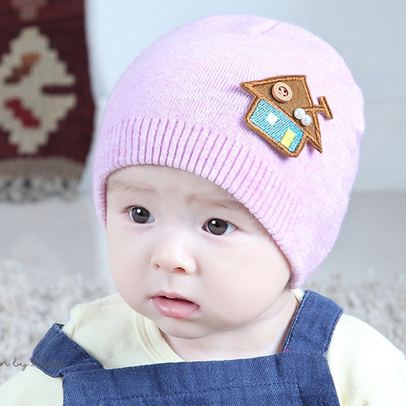 73ef7ea33 Buy infant Baby Hat Soft Cotton Newborn Baby Beanie Double Layer ...