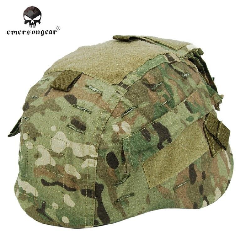 Prix pour Emersongear Militaire Couvre-casque Paintball Armée Couvre-casque pour MICH 2002 Casque Casque Couverture