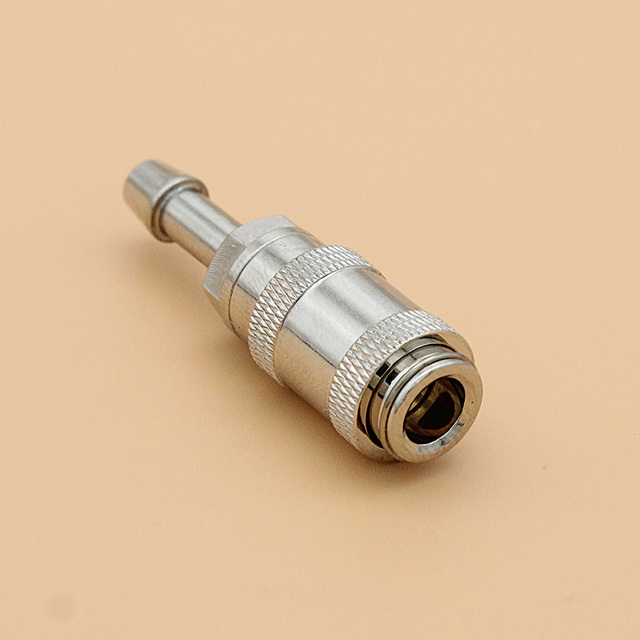 NIBP blood pressure cuff single tube air hose connector plug to MEK,Drager,Mindray,HP,Datascope,Nellcor,Colin,Siemens,Goldway. 5