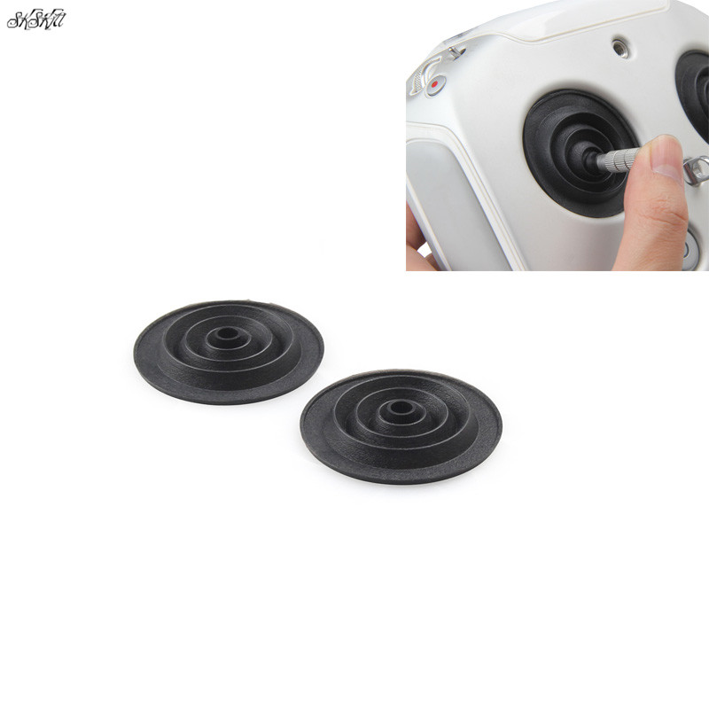 2 Pcs Remote Controller Joysticks Thumb Rocker Dust Proof Silicone Protective Cover For DJI Phantom 3 / 4 Drone Accessories