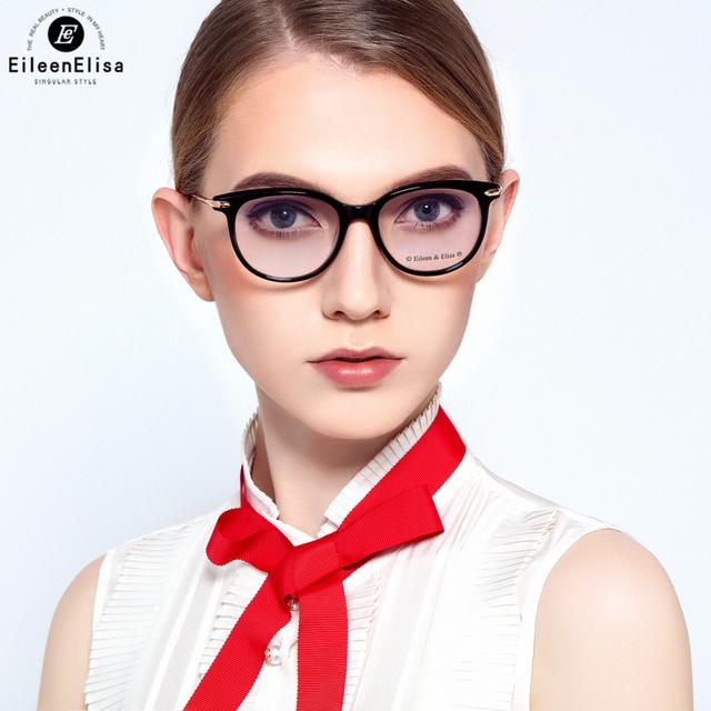 EE Oculos Armação de óculos para As Mulheres Designer de Marca de Alta Qualidade Moda Feminina Frame Ótico Miopia Armações de Óculos