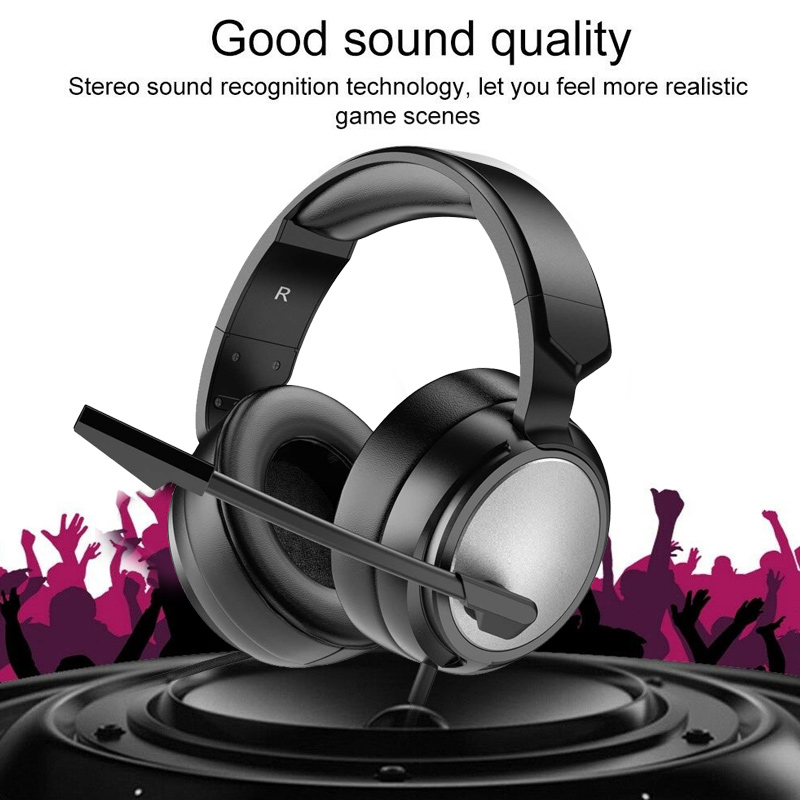 Professional Studio Headphones DJ Stereo Wired Headphones Studio Monitor Gaming Headset 3.5mm Cable For Xiaomi PC image