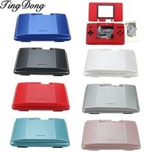 Tingdong 7 Kleuren Optioneel Vervanging Shell Behuizing Cover Case Volledige Set Voor Nintendo Ds Nds Game Console