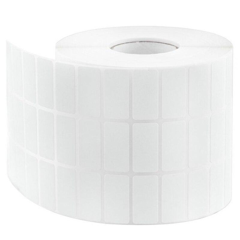 Snelle Levering Blanco Barcode Thermische Transfer Label 30mm X 10mm, Roll Van 20000 Sticker, Gecoat Papier Sticker, Witte Sticker Barcode Papier We Hebben Lof Van Klanten Verdiend