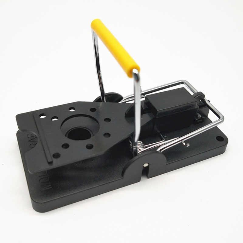 6Pcs Mouse Catcher Set Plastic Alloy Mice Rat Trap Reusable Rodent Snap Traps LAD-sale