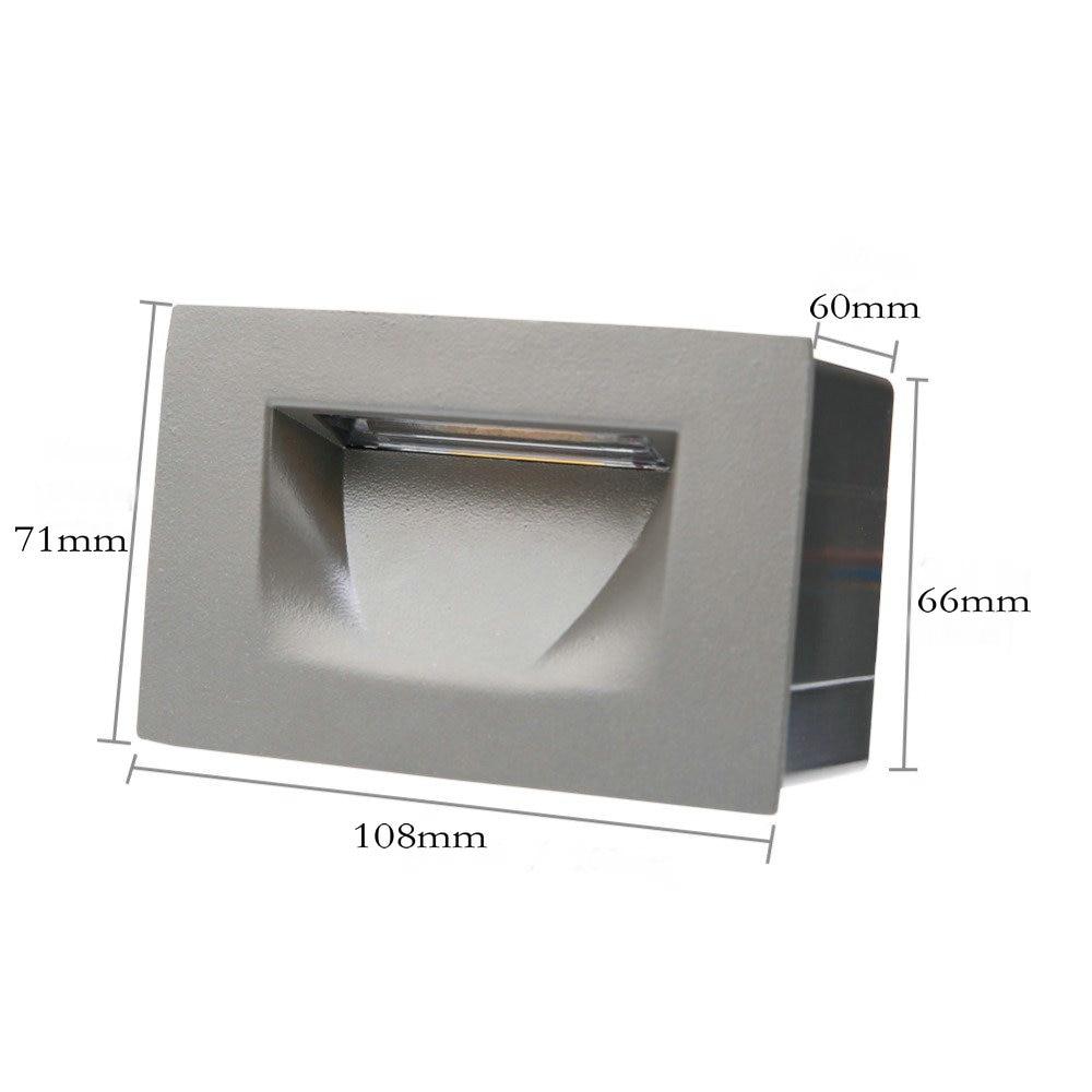 10 PCS Zunanja nepremočljiva stenska svetilka Stenska svetilka - Notranja razsvetljava - Fotografija 5