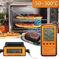 Dual Probe Digital Kitchen Thermometer for Meat Water Milk Cooking Food Probe BBQ Electronic Oven Thermometer Kitchen Tools