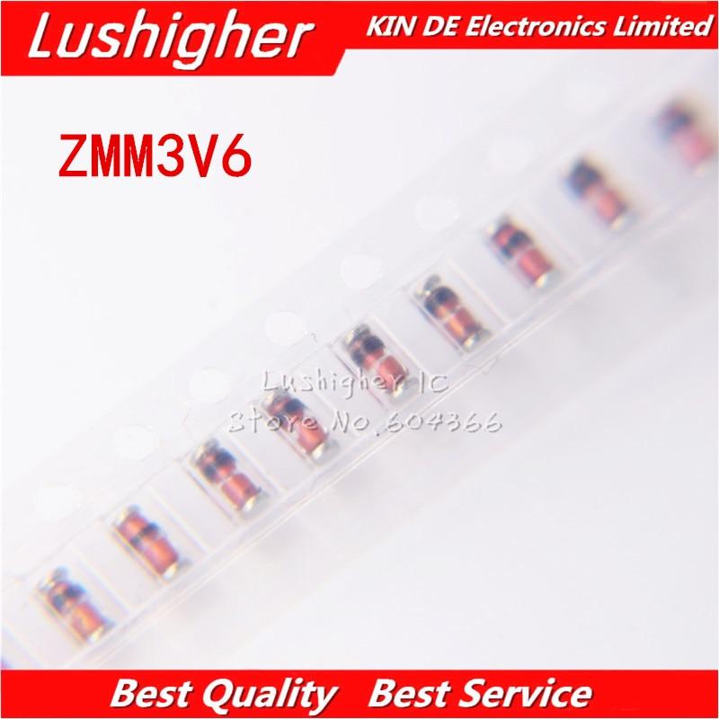 20PCS SMD Voltage Regulator Diode ZMM3V3 3.3V LL-34 1//2W 1206 0.5W