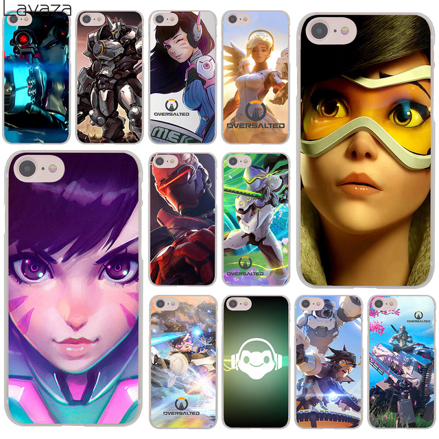 the latest 3f5ea e4b6b US $2.55 |Overwatch Tracer 76 Pharah OW Genji Hard Cover Case for iPhone X  XS Max XR 6 6S 7 8 Plus 5 5S SE 5C 4S 10 Phone Cases 8Plus-in Half-wrapped  ...