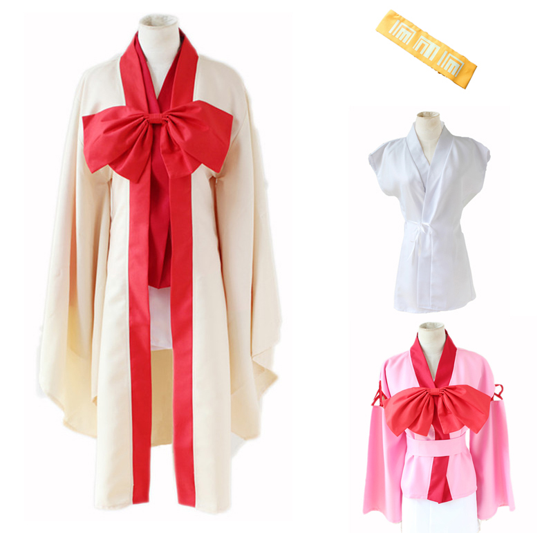 Anime No Game No Life Warbest Hatsuse Izuna Cosplay Costumes Full Set Japanese Kimono Halloween Party Dress