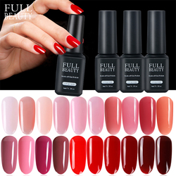 New Varnish Nail Gel Polish Set Soak off Hybrid Shiny Lacquer UV Red Black Color for Manicure Nail Art Beauty Salon Primer CH981