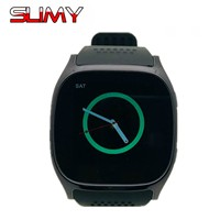 Slimy Sport Smart Watch T8 Bluetooth Music Player SmartWatch With SIM TF Card Slot Camera GPS