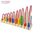 Разноцветные деревянные счеты, соробан, японские счёты, детская игрушка для обучения арифметическим действиям, игрушка Монтессори, образовательная математическая игрушка