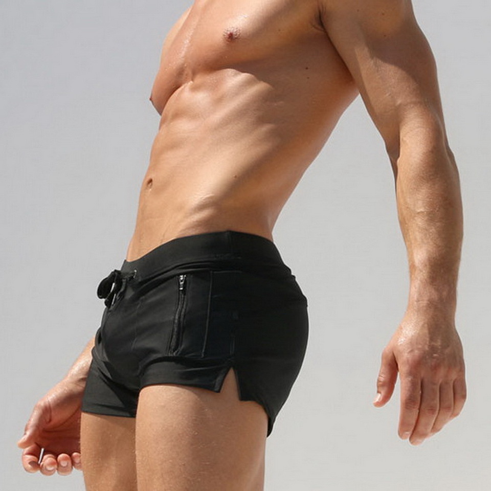 Topdudes.com - Hot Men's Summer Beach Swimming Trunks with Pocket