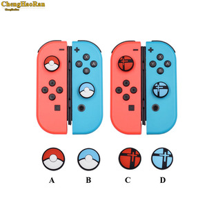 Image 1 - 1pcs Silicone Analog Controller Stick Grips for Nintend Switch NS Controller Skin Joy Con Caps Controller Cover