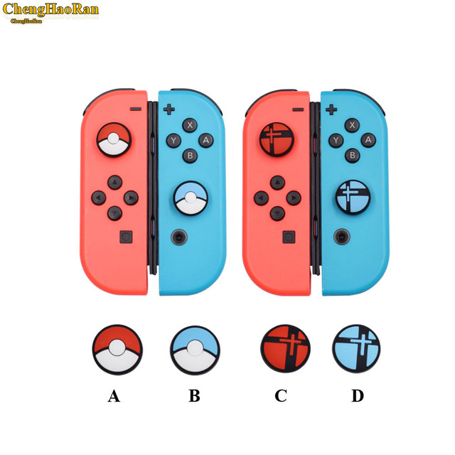 1pcs Silicone Analog Controller Stick Grips for Nintend Switch NS Controller Skin Joy Con Caps Controller Cover