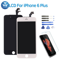 1Pcs Best Quality LCD Display For IPhone 6 Plus Touch Screen Digitizer Assembly Replacement Middle Frame