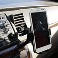 ABS mobile phone mount support car mobile phone holder universal car phone bracket for iPhone Samsung LG