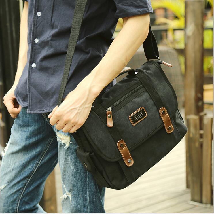 Los hombres de moda crossbody bolsa de hombro de los hombres bolsa de mensajero