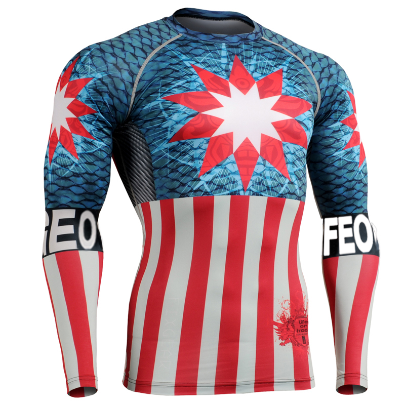 Uk Flag Sports Clothing Men 3d Newest Printing Long Sleeve
