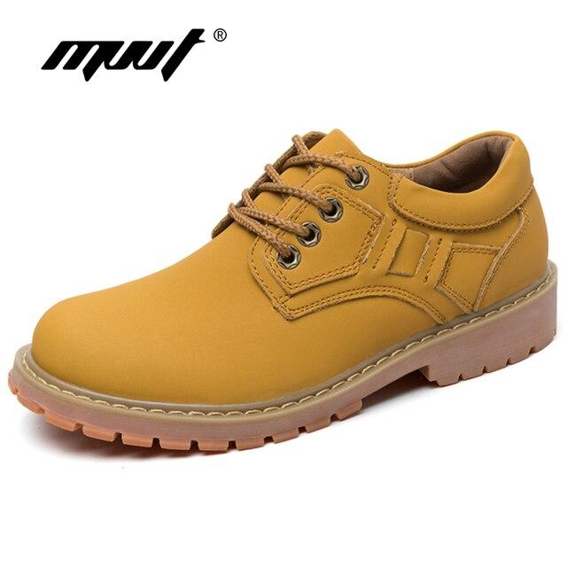 Neue Stil Split Leder Stiefel Männer Werkzeug Schuhe Für Winter Stiefel Plattform Arbeit & Sicherheit Stiefel Klassischen Warmen Männer Schuhe