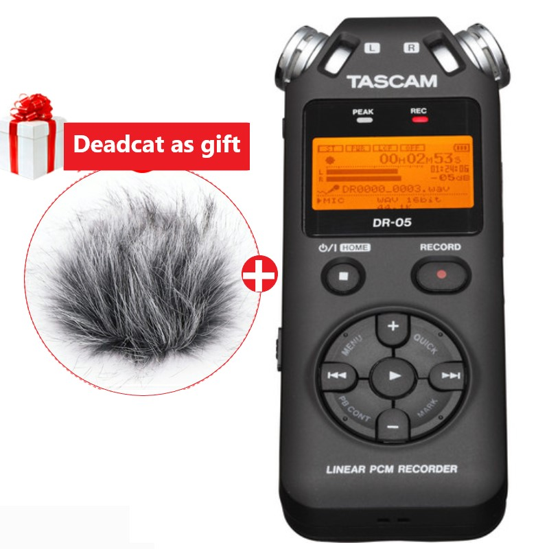 TASCAM DR 05 Portable Digital Voice Recorder audio recorder MP3 Recording Pen Version 2 with 8GB