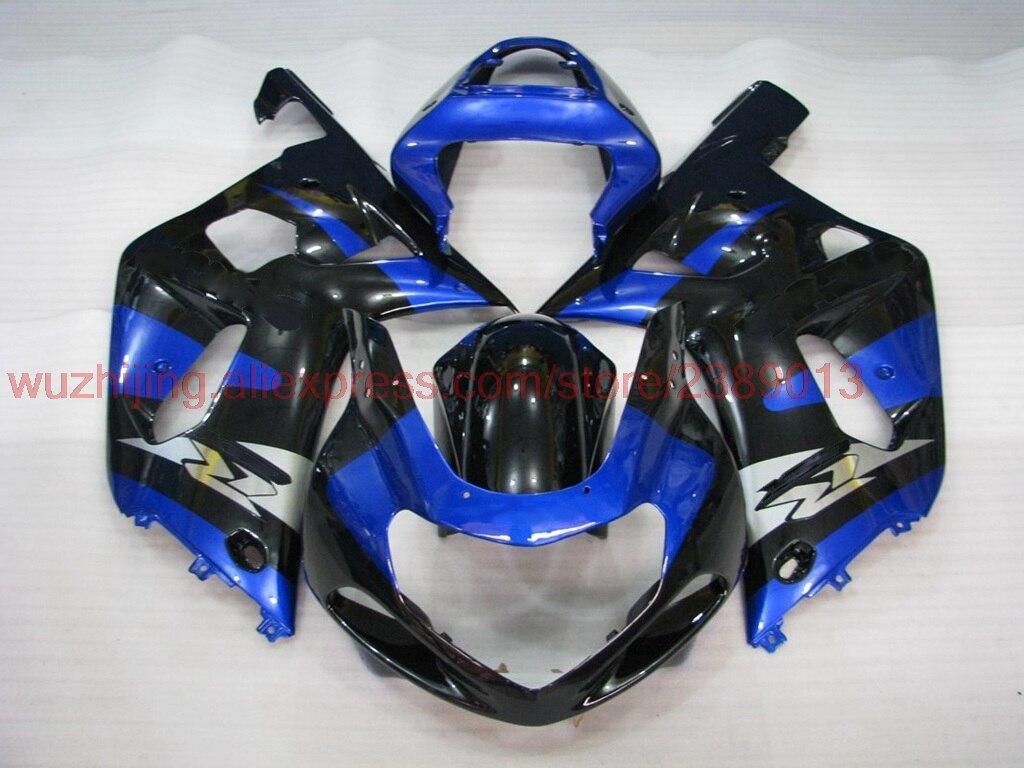 GSXR600 2000-2003 K1 K2 2000 обтекатель для Suzuki GSXR1000 2001 синий черный Обтекатели GSX R 600 750 1000 2001 Наборы тела