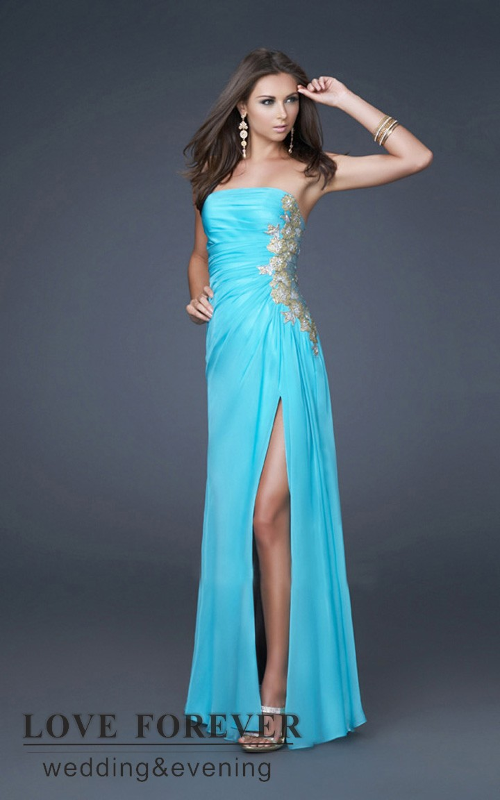 Moderno Turquoise And White Prom Dresses Embellecimiento - Ideas de ...