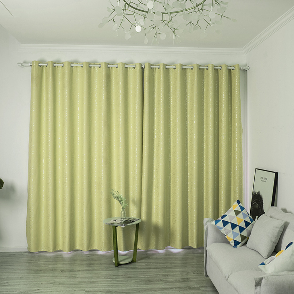 2019 Modern Curtains For Home Room Window Curtains For Living Room Bedroom Blackout Curtain 240x135cm Cortinas Solid F801 From Hibooth 45 09