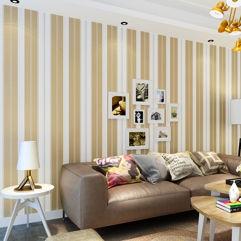 beibehang Simple stripes papel de parede 3D wallpaper for walls 3 d Wall Paper for living room Mural Home Decor Wall coverings beibehang garden flower wallpaper for walls 3 d bedroom living room home decor 3d mural wall paper rolls papel de parede adesivo