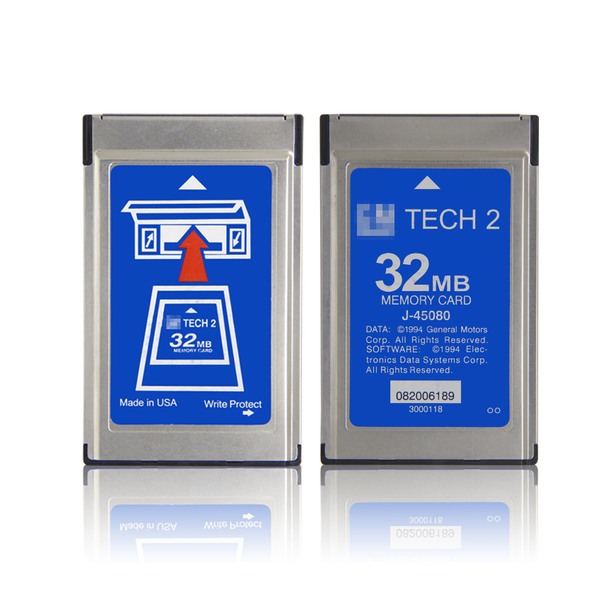 Image 4 - For G M Tech2 32MB Memory Card With 6 Kinds Of Software & Empty Card for Tech 2 Diagnostic Tool With Free Shipping-in Software from Automobiles & Motorcycles on