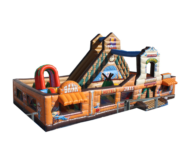 (China Guangzhou) manufacturers selling inflatable slides, inflatable castles,nflatable bouncer COB-73
