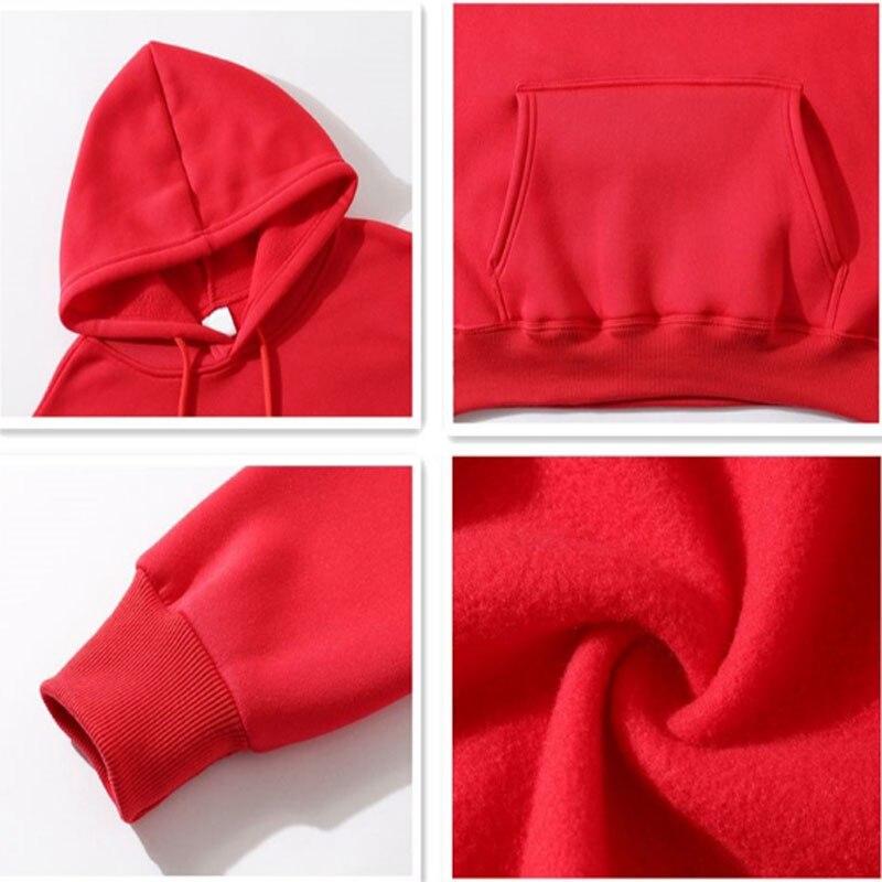 Fashion streetwear Hoodie Sweatshirt Multiple Colour Men Women Hoodies Pullover 5