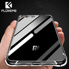 FLOVEME Phone Case For Xiaomi Redmi Note 5 4X 5 Plus Clear Soft TPU Case For Xiaomi Mi 8 Mi8 SE A1 Mix 2 2S 6 Transparent Cover(China)