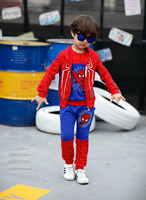 Hot Sale The New Cartoon Cotton Three Piece Suit Children S Wear Clothing Sets Spiderman Kids