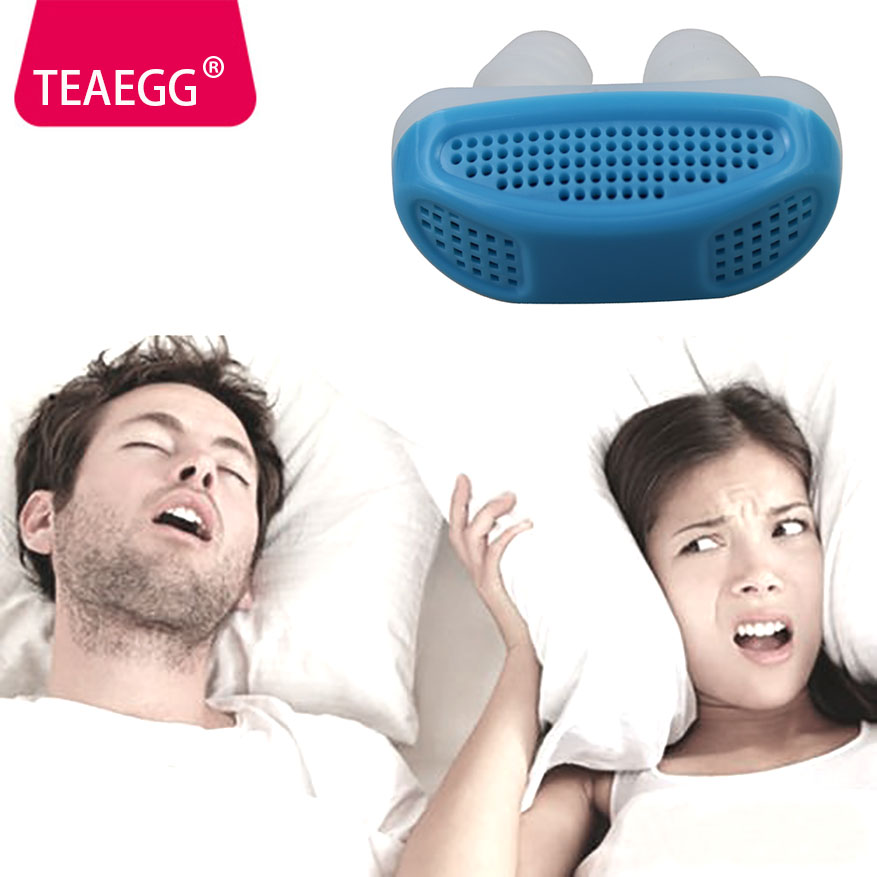 Sleep Anti Snoring Relieve Nose clip Snore Stop Breathing Apparatus Guard Sleeping Aid anti snoring strap solution. ...